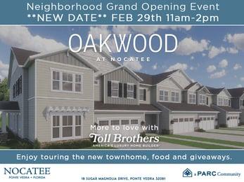 Oakwood at Nocatee Grand Opening