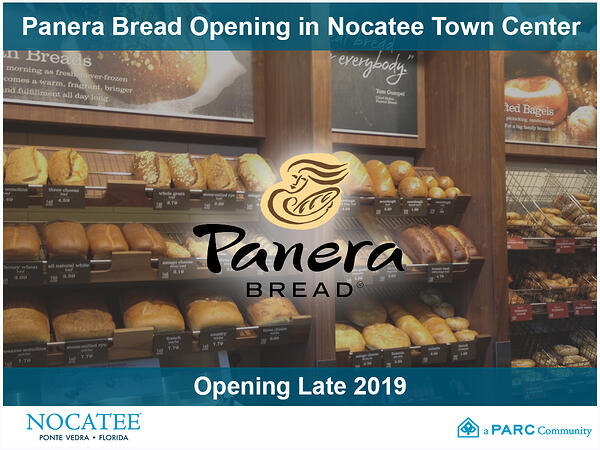 Panera Bread Opening in Nocatee