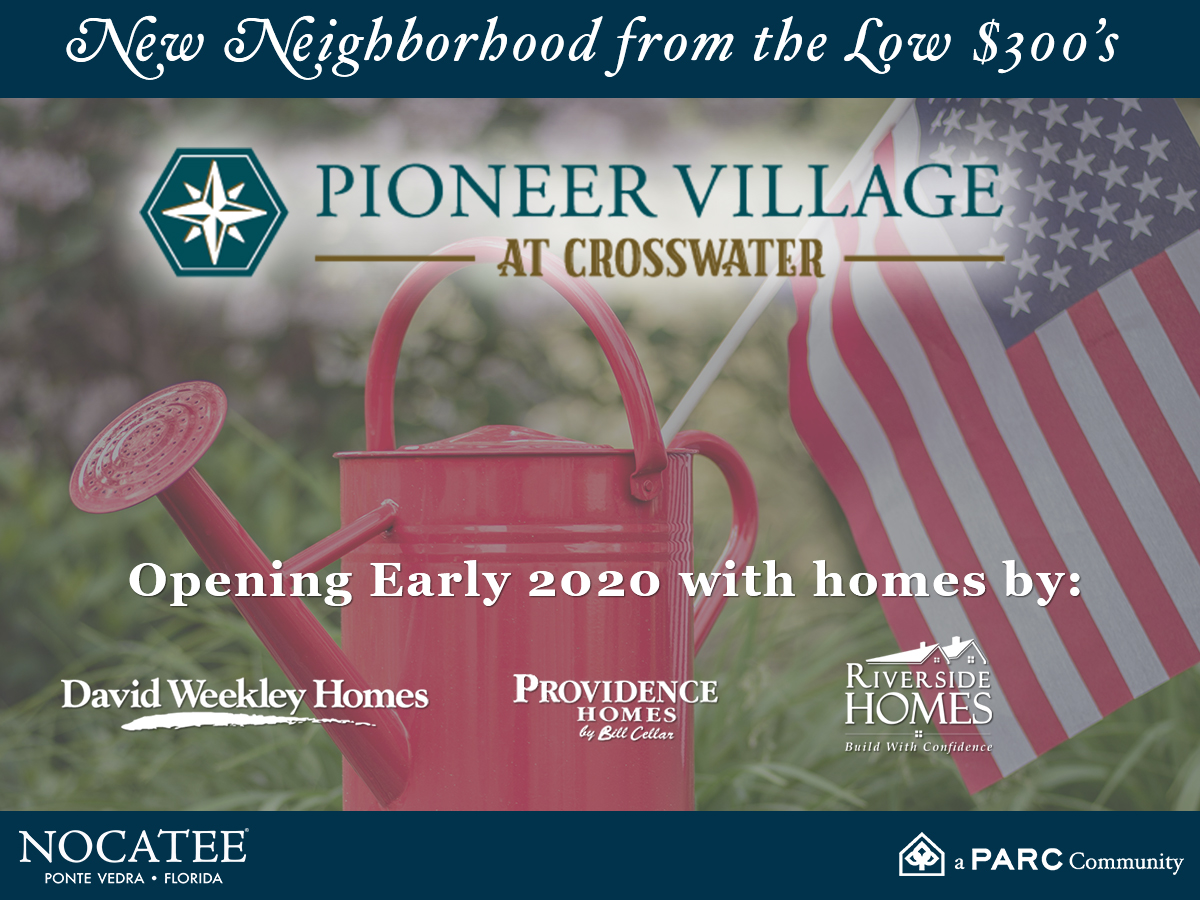 Pioneer Village at Crosswater Opening 2020 in Nocatee