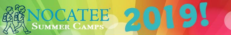 Nocatee Summer Camps 2019