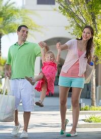 Shopping at Nocatee Town Center