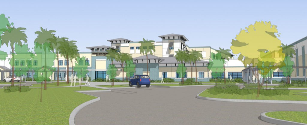 New K-8 Nocatee School Rendering